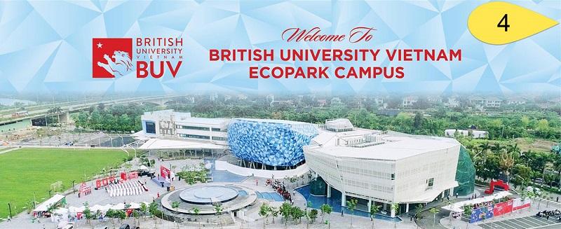 Giai đoạn 4 - Các trường học trong khu đô thị Ecopark