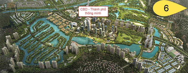 Giai đoạn 6 - CBD Thành phố thông minh khu đô thị Ecopark