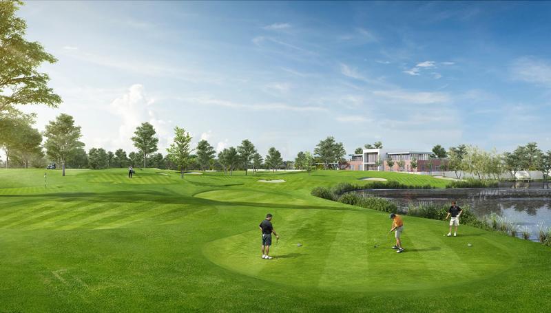 Giai đoạn 9 - Sân Golf 18 hố đẳng cấp quốc tế trong khu đô thị Ecopark