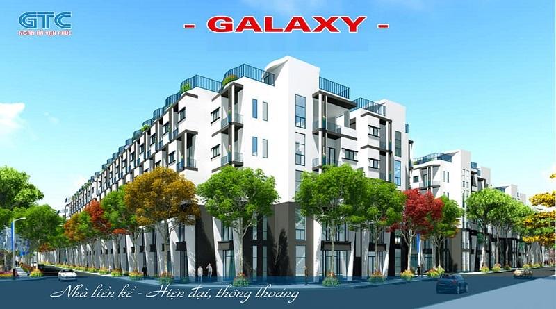 Liền kề dự án Ngân Hà Vạn Phúc TSQ Galaxy Hà Đông