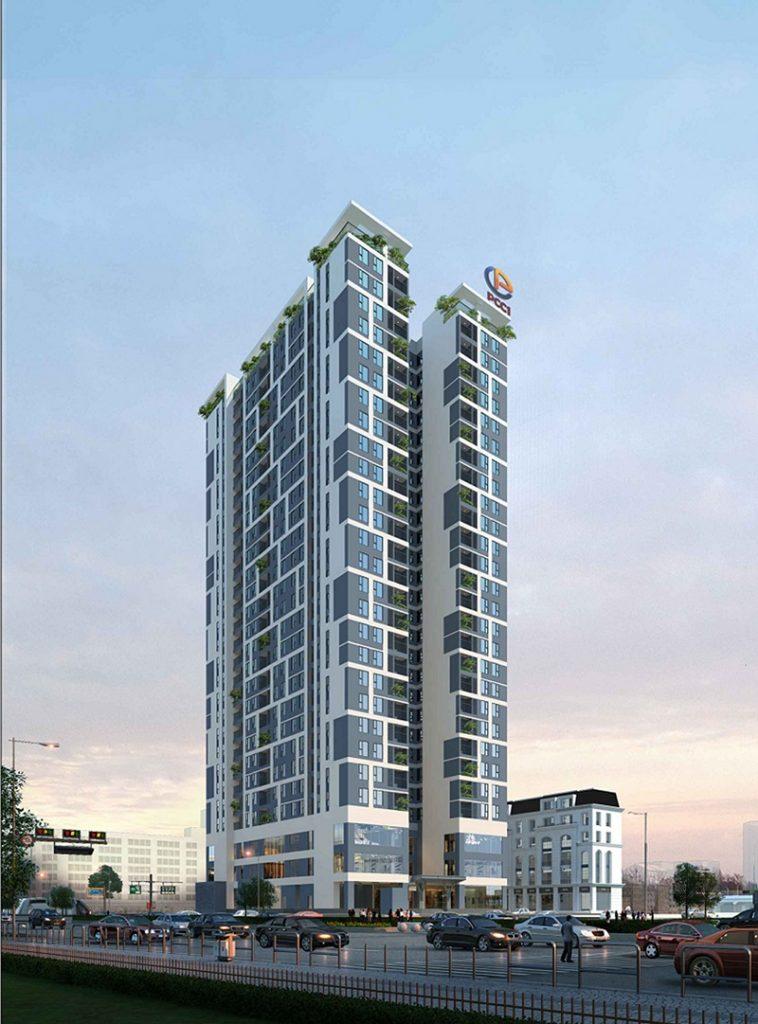 Phối cảnh 1 dự án chung cư PCC1 Vĩnh Hưng - Hoàng Mai