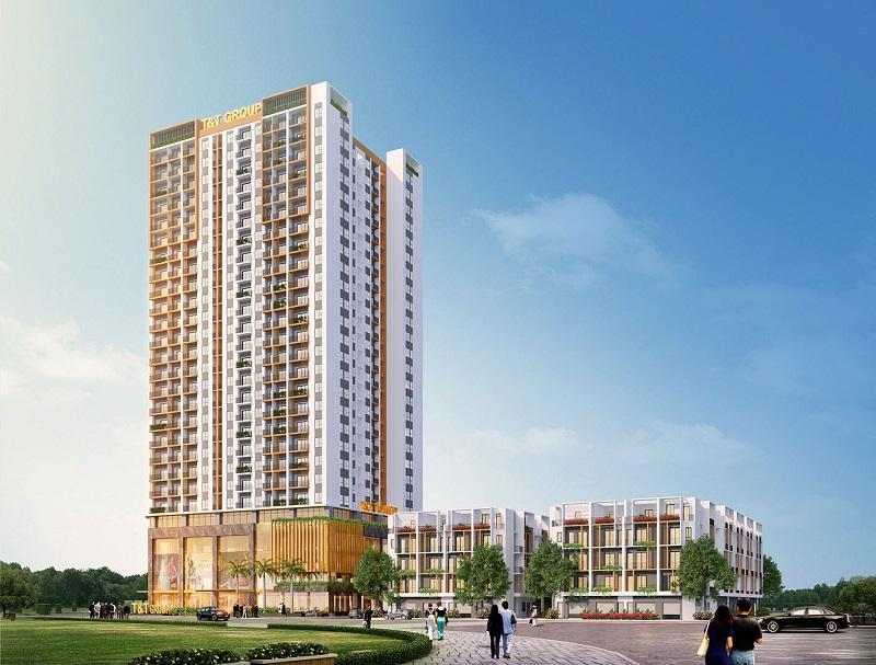 Phối cảnh 2 dự án T&T DC Complex 120 Định Công