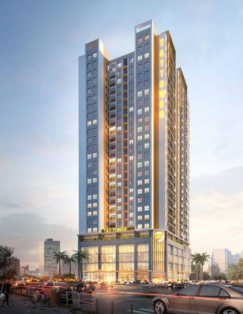 Phối cảnh chung cư dự án T&T DC Complex 120 Định Công