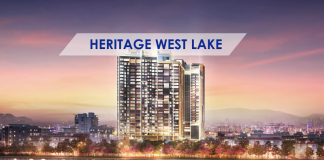 Phối cảnh dự án Heritage West Lake Tây Hồ