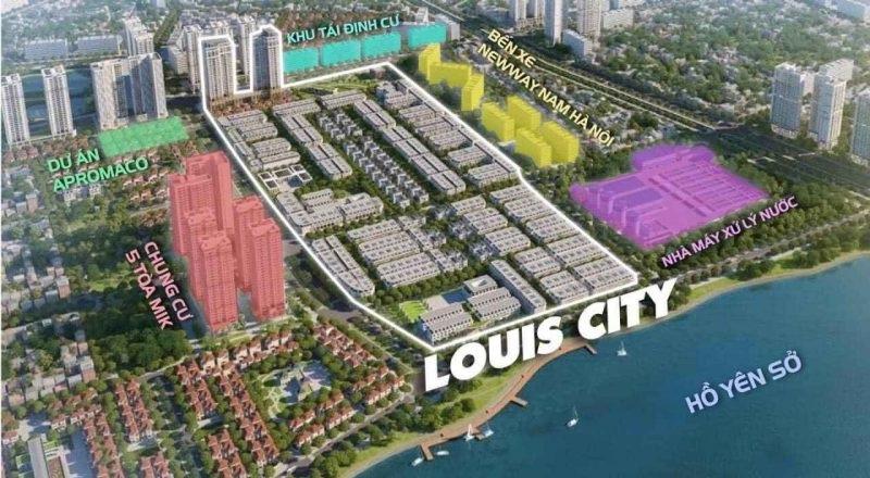 Phối cảnh 1 Louis City Tân Mai - Hoàng Mai