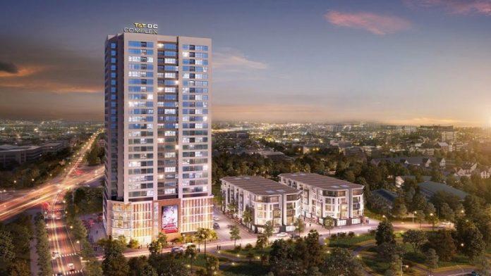 Phối cảnh dự án T&T DC Complex 120 Định Công