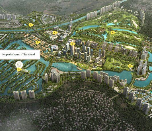 Phối cảnh khu đô thị Ecopark đẳng cấp