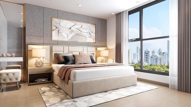 Phối cảnh phòng ngủ dự án T&T DC Complex 120 Định Công