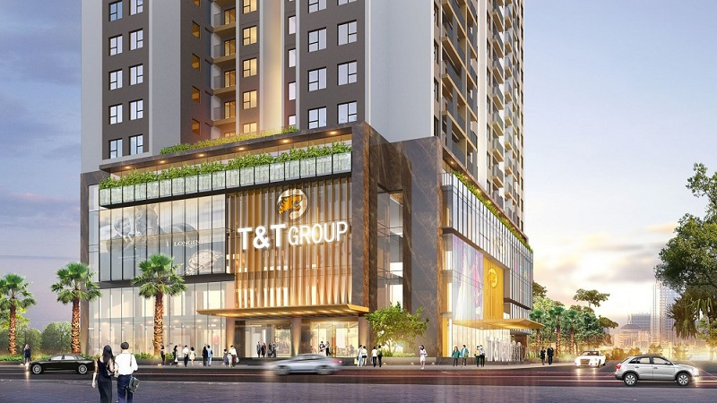 Phối cảnh TTTM dự án T&T DC Complex 120 Định Công