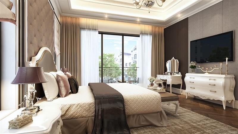 Phòng ngủ chung cư Tràng An Home - 149 Trường Chinh