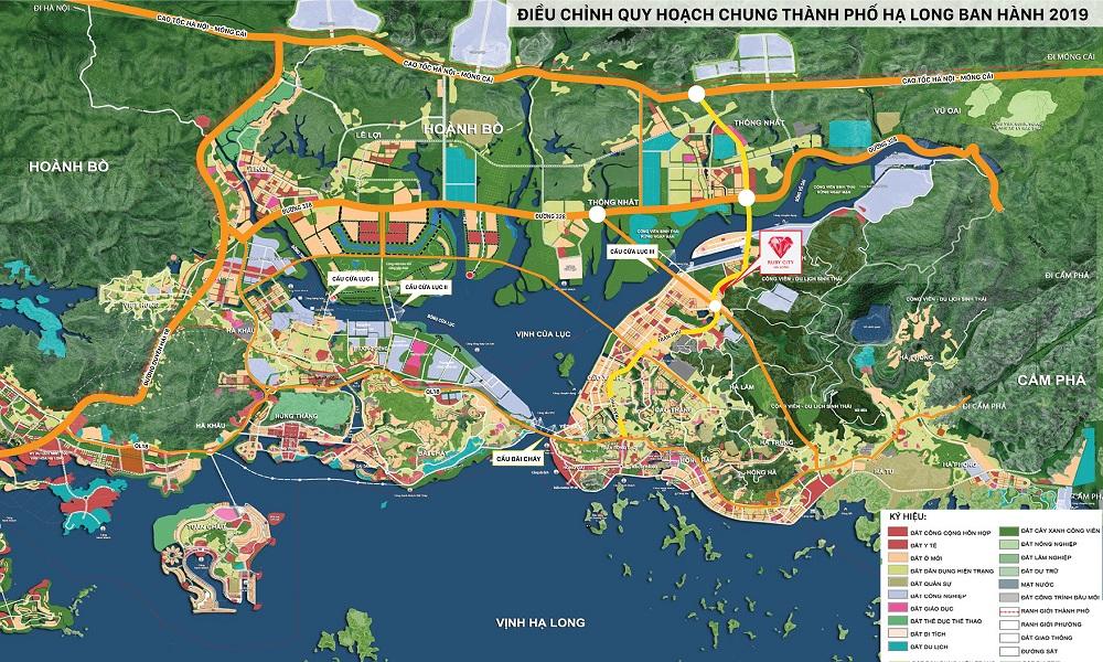 Quy hoạch chung thành phố Hạ Long - Quảng Ninh đến 2050