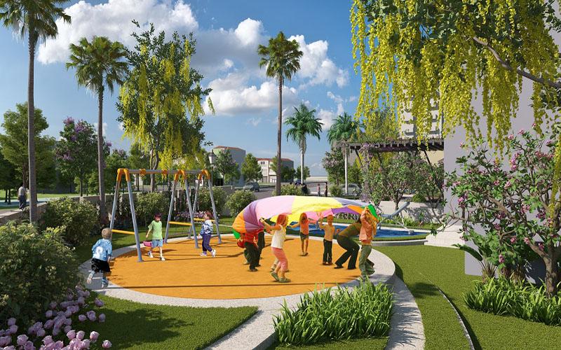 Sân chơi trẻ em chung cư Tràng An Home - 149 Trường Chinh