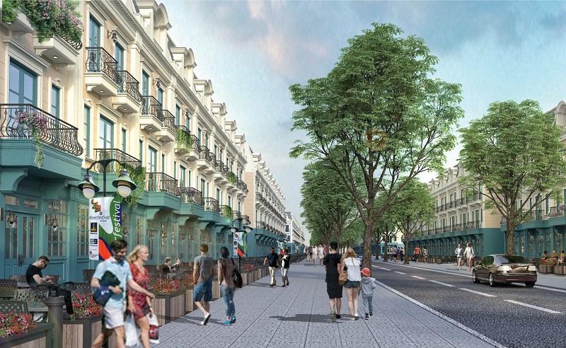 Shophouse 2 dự án Ruby City Hạ Long - Quảng Ninh