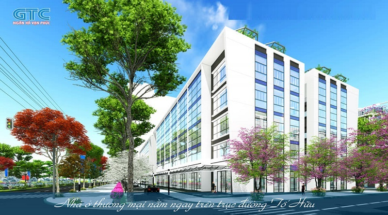 Shophouse dự án Ngân Hà Vạn Phúc TSQ Galaxy Hà Đông