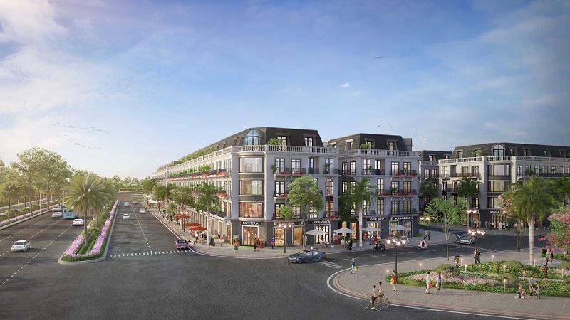 Shophouse dự án Ruby City Hạ Long - Quảng Ninh