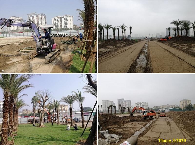 Tiến độ 2 dự án Louis City Tân Mai - Hoàng Mai 2020
