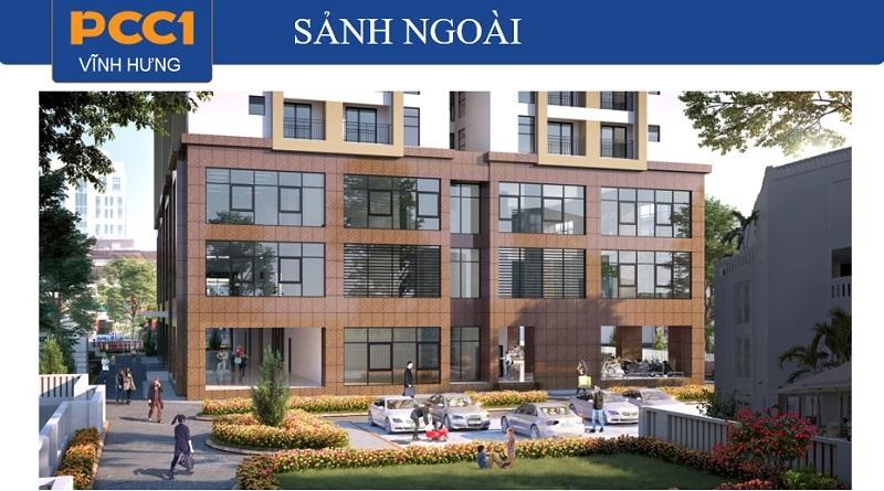 Tiện ích sảnh ngoài dự án chung cư PCC1 Vĩnh Hưng - Hoàng Mai