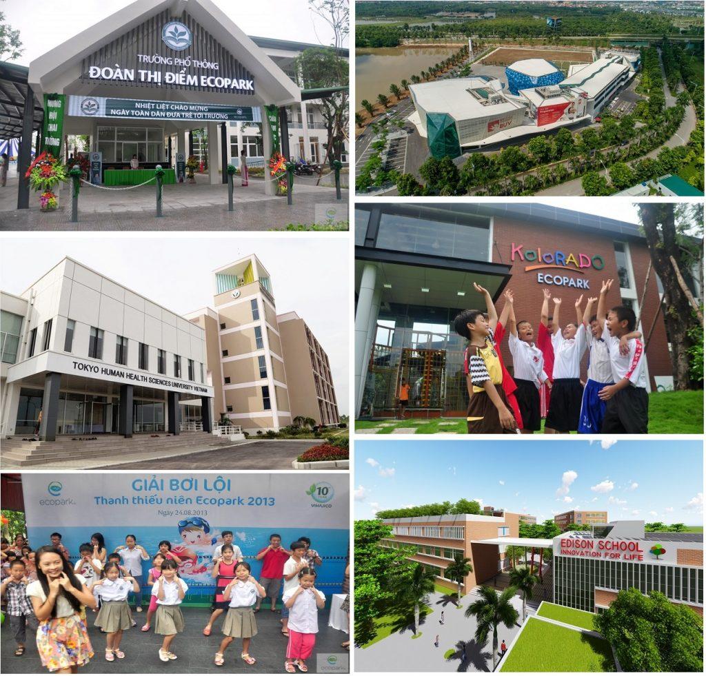 Trường học khu đô thị Ecopark