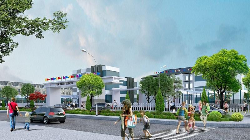 Trường học dự án Ruby City Hạ Long - Quảng Ninh