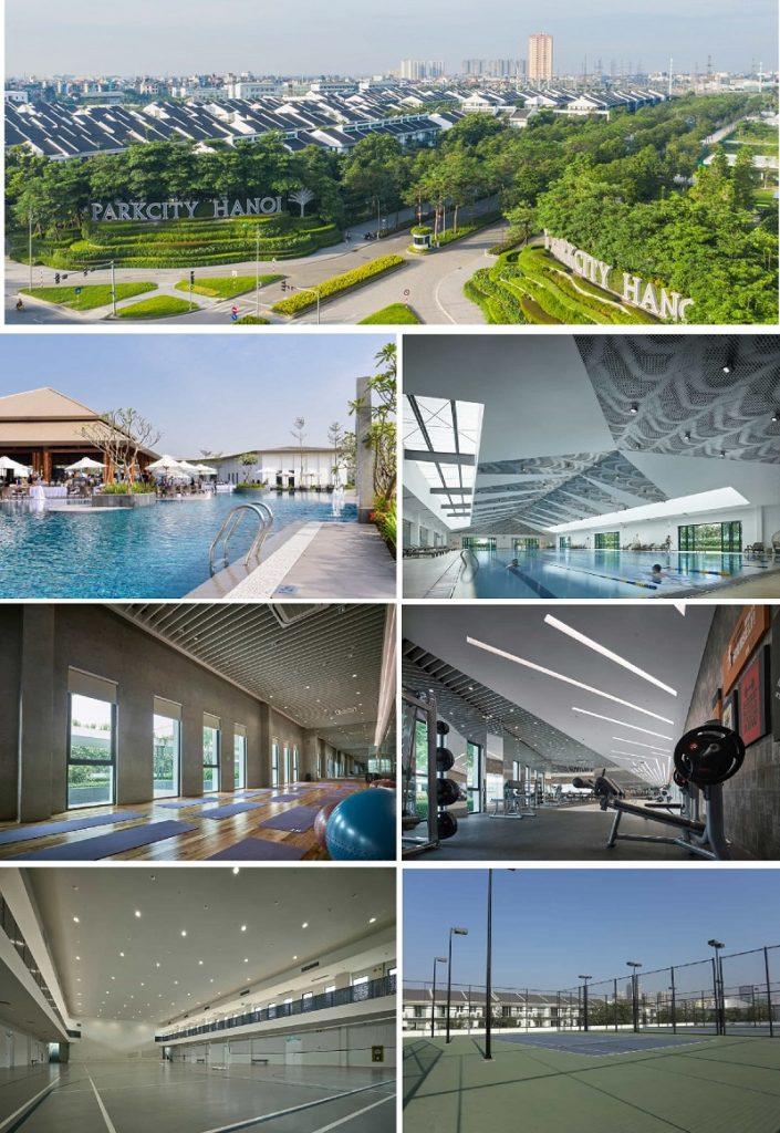 Ảnh thực tế dự án Park City Hà Nội