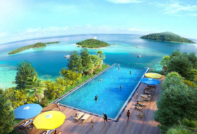 Bể bơi dự án Flamingo Crown Bay Hải Tiến - Thanh Hóa