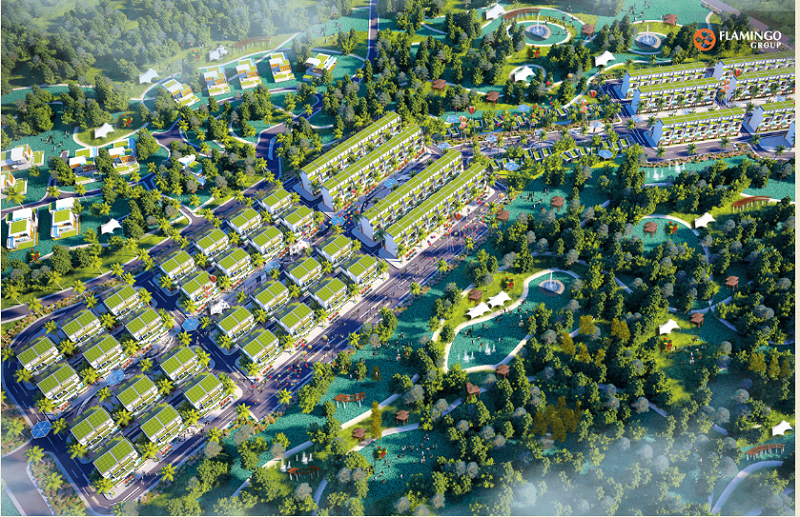 Biệt thự dự án Flamingo Crown Bay Hải Tiến - Thanh Hóa