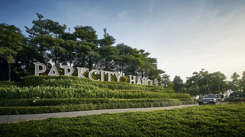 Cổng dự án Park City Hà Nội