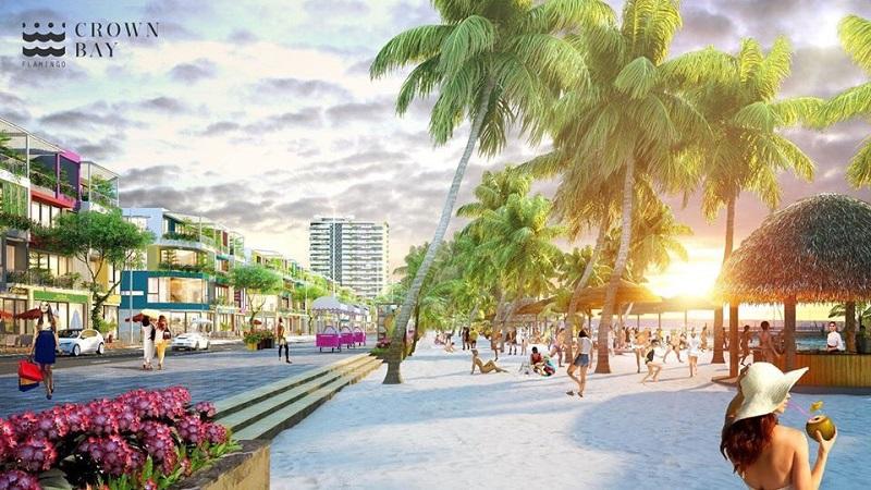 Giao thông 2 dự án Flamingo Crown Bay Hải Tiến Thanh Hóa