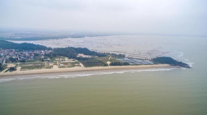 Hình ảnh thực tế dự án Flamingo Crown Bay Hải Tiến Thanh Hóa 2