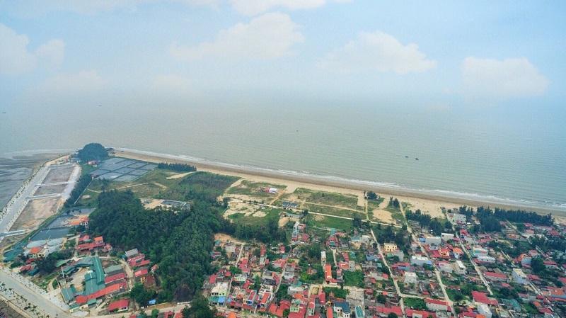 Hình ảnh thực tế dự án Flamingo Crown Bay Hải Tiến Thanh Hóa 4
