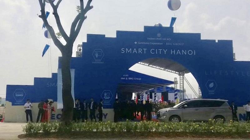 Hội nghị dự án BRG Smart City Đông Anh - Thành Phố Thông Minh