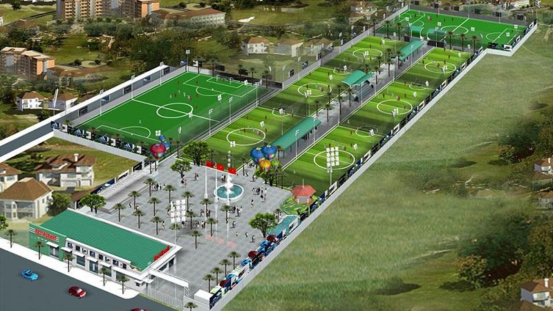 Khu thể thao phức hợp dự án Aroma Đồng Kỵ - Từ Sơn - Bắc Ninh