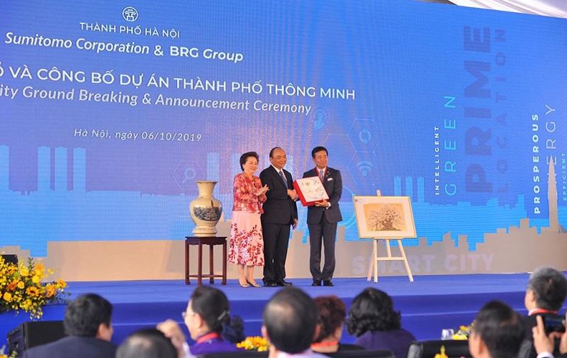 Lễ động thổ dự án BRG Smart City Đông Anh - Thành Phố Thông Minh