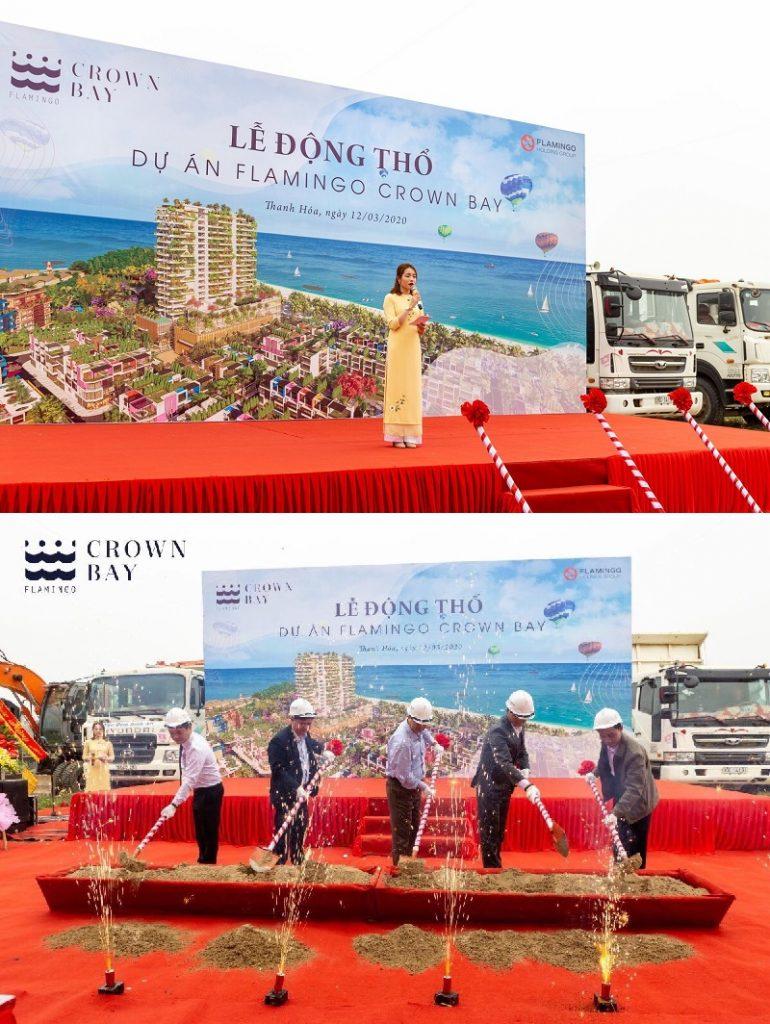Lễ động thổ dự án Flamingo Crown Bay Hải Tiến - Thanh Hóa