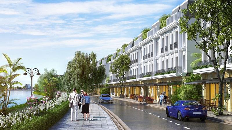Nhà phố thương mại dự án Aroma Đồng Kỵ - Từ Sơn - Bắc Ninh