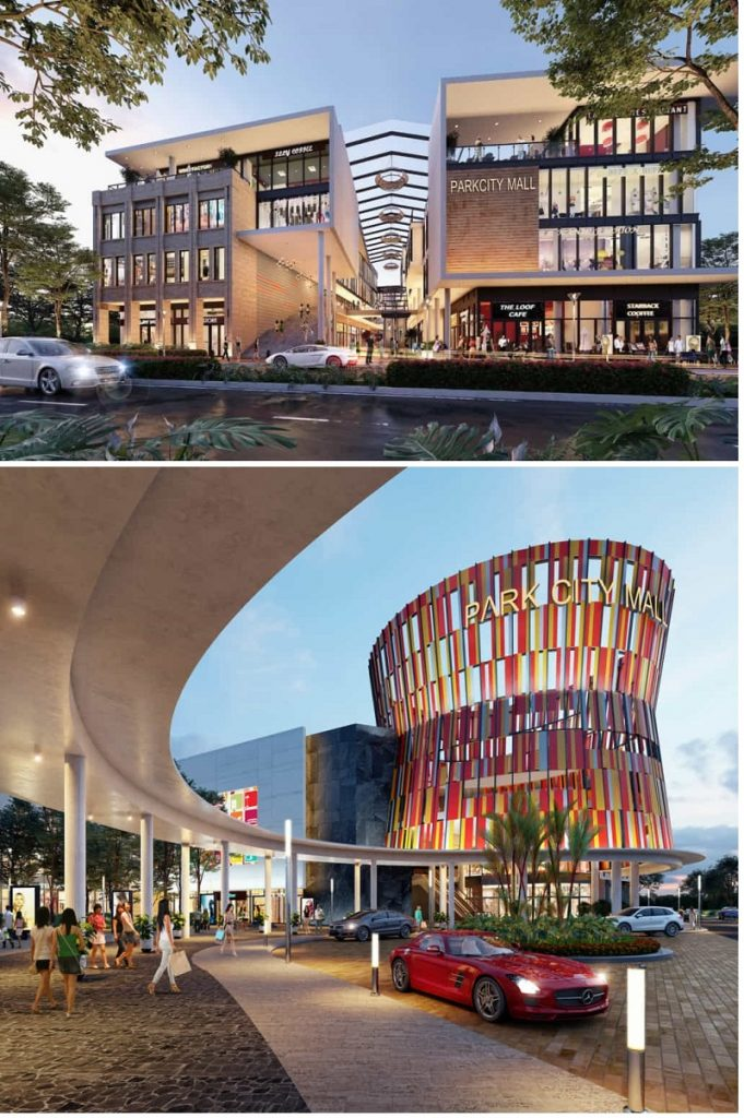 Park City Mall trong dự án Park City Hà Nội