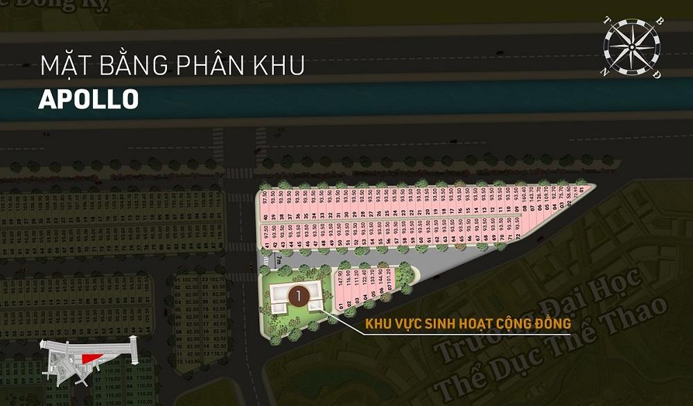 Phân khu Apollo dự án Aroma Đồng Kỵ - Từ Sơn - Bắc Ninh