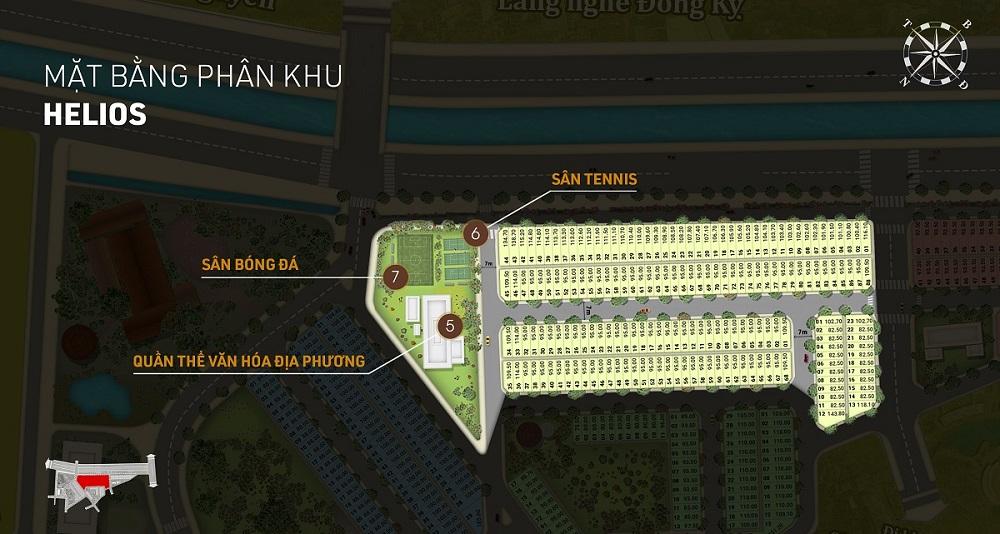 Phân khu Helios dự án Aroma Đồng Kỵ - Từ Sơn - Bắc Ninh