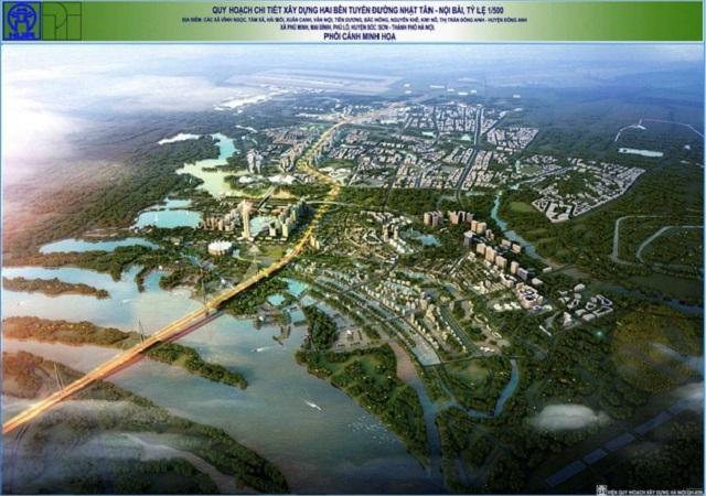 Phối cảnh 2 dự án BRG Smart City Đông Anh - Thành Phố Thông Minh