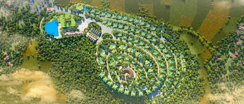 Phối cảnh 2 dự án Long Thành Luxury Resort Hòa Bình