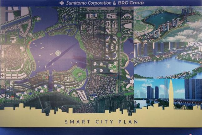 Phối cảnh 3 dự án BRG Smart City Đông Anh - Thành Phố Thông Minh