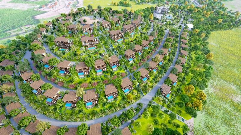 Phối cảnh 4 dự án Long Thành Luxury Resort Hòa Bình