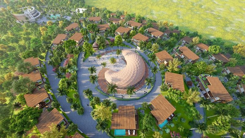 Phối cảnh 6 dự án Long Thành Luxury Resort Hòa Bình