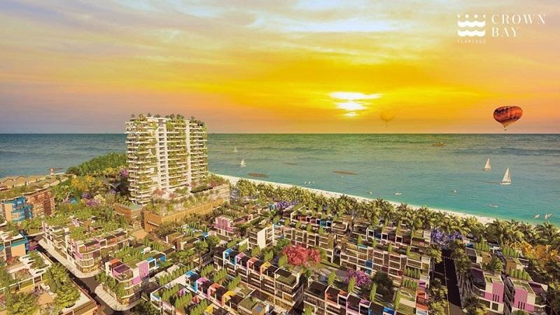Phối cảnh đẹp dự án Flamingo Crown Bay Hải Tiến Thanh Hóa