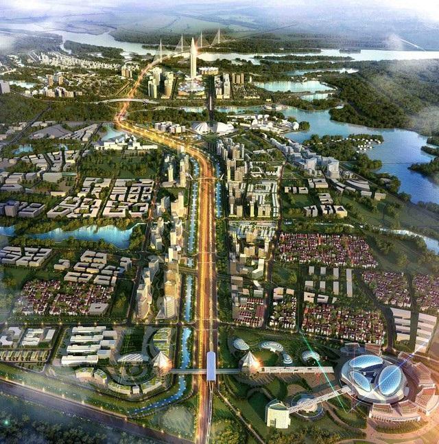 Phối cảnh dự án BRG Smart City Đông Anh - Thành Phố Thông Minh