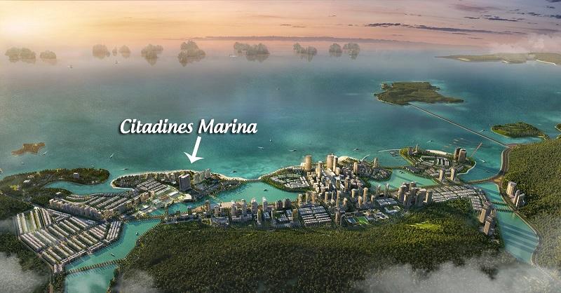 Phối cảnh khu đô thị Marina và Citadines Hạ Long - Quảng Ninh