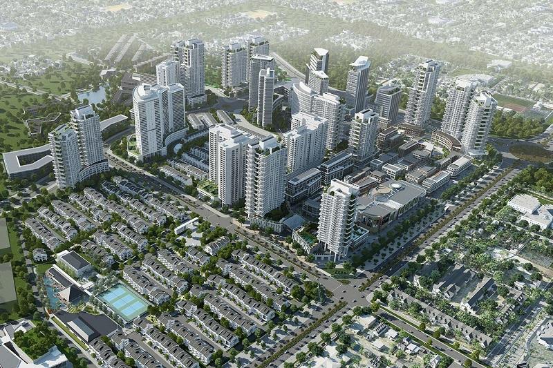 Phối cảnh dự án Park City Hà Nội