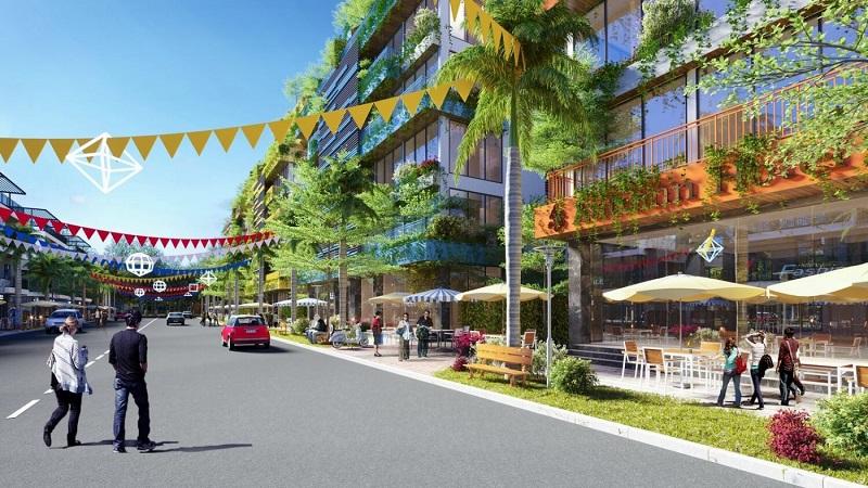Phối cảnh nội khu dự án Flamingo Crown Bay Thanh Hóa