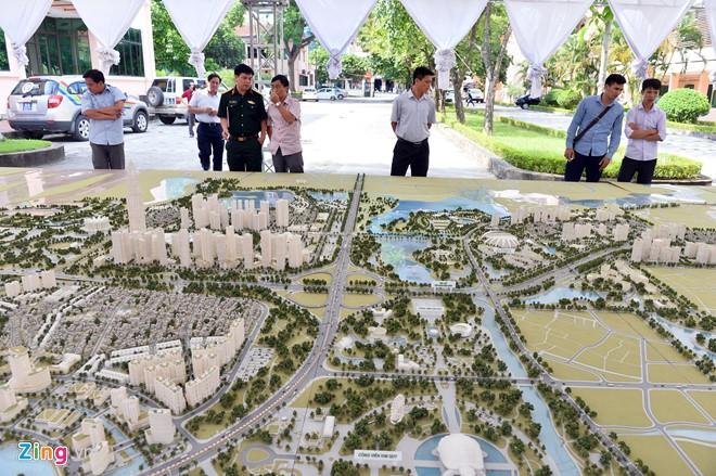 Sa bàn dự án BRG Smart City Đông Anh - Thành Phố Thông Minh