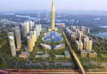 Tháp phương trạch dự án BRG Smart City Đông Anh - Thành Phố Thông Minh